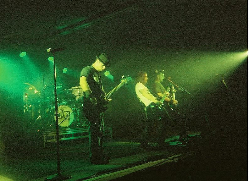 Image of Alter Bridge rocking the E-Center, Harker Heights, Texas, April 18, 2008.